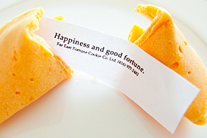 Happiness and good fortune